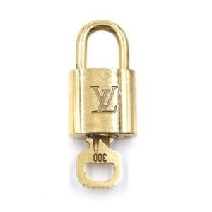 Gold Lock Keepall Speedy Alma #300 Bag